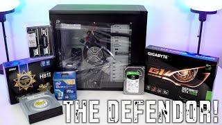 The Defendor - $500 Gaming PC Build (November 2016)