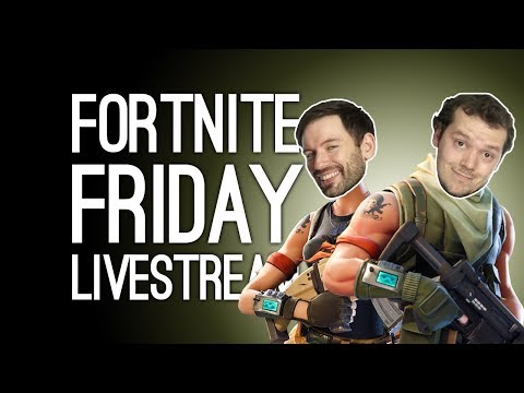 FORTNITE LIVESTREAM! with Live Q&A and Luke and Ellen of Outside Xtra