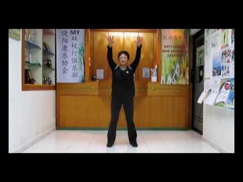 Anti Cancer Arm Swing Exercise:routine 4抗癌甩手功第四套