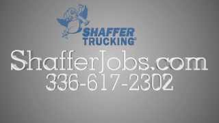 truck driving jobs north carolina   336 617 2302   shaffer trucking