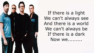 U2 – 13 There Is a Light Lyrics