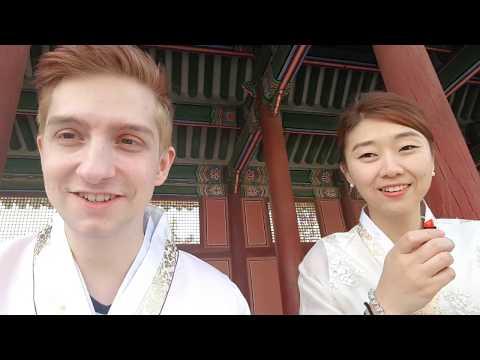 South Korea Vlog #03 - Palast und Tradition in Seoul mit Hanbok - GER to Korea