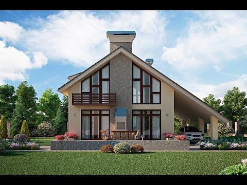 Реально красивые частные дома Архитектура домов