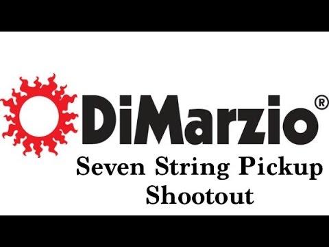 Dimarzio 7 String Guitar Pickup Shootout: Tone Zone Air