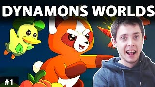 DYNAMONS WORLDS GAMEPLAY PL | YNAMONS WORLDS Gra podobna do Pokemon!