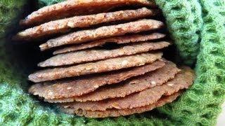 Herbes de Provence Almond Flour Cracker Recipe