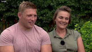 England rugby star Tom Youngs' wife opens up about cancer ordeal | ITV News