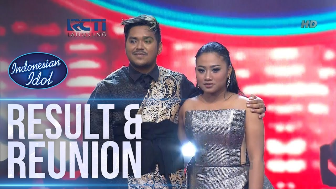 RESULT - RESULT & REUNION - Indonesian Idol 2018 - YouTube