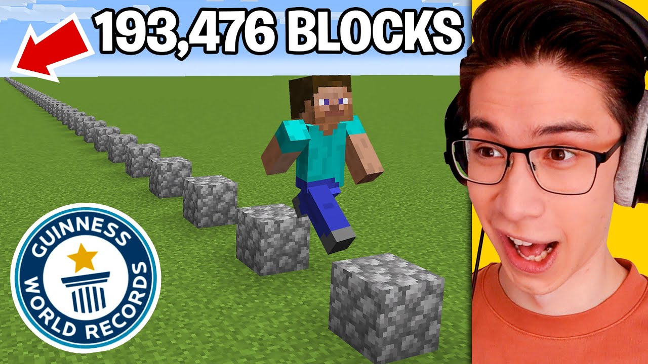 Testing Minecraft World Records To See How Hard They Are