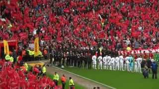 Sir Alex Ferguson's last game at Old Trafford - Sunday 12/05/2013