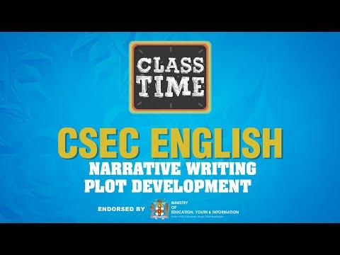 CSEC English   Narrative Writing - Plot Development   - June 25 2021