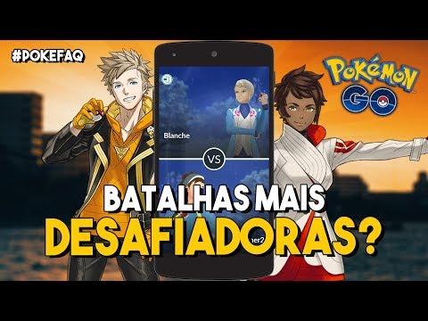 NOVAS BATALHAS, MAIS POKÉSTOPS E AR NAS BATALHAS? #POKEFAQ | Pokémon GO thumbnail