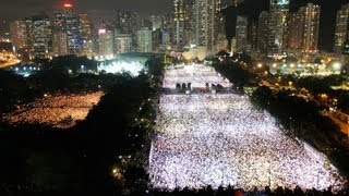 Massive Protest in Hong Kong on Tiananmen Anniversary