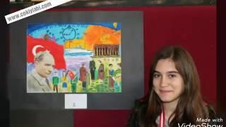 10 kasım Resim yarışması Çizimleri
