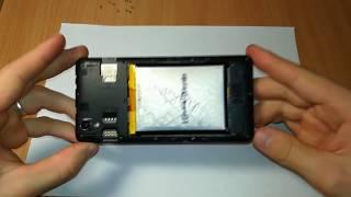 Замена аккумулятора на смартфоне ZTE Blade X3