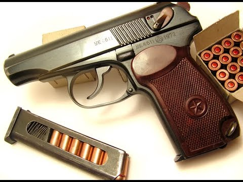 Обзор и стрельба: пистолет ПМ схп охолощенный (ВПО-525)