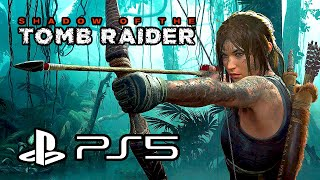 Shadow of the Tomb Raider - Gameplay on PS5 (4K)