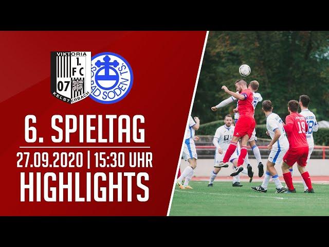 Viktoria Kelsterbach - SG Bad Soden II   Highlights   27.09.2020