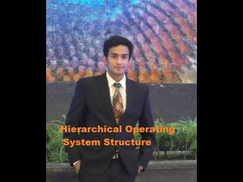 Hierarchical Operating System Structure/ system programming