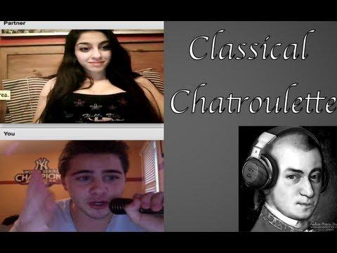 Classical Improv Chatroulette [Mozart Feat. Dominic DeAngelis]