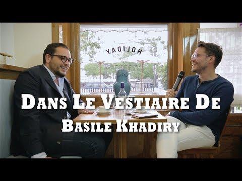 Dans le vestiaire de Basile Khadiry, co-fondateur de Beige Habilleur