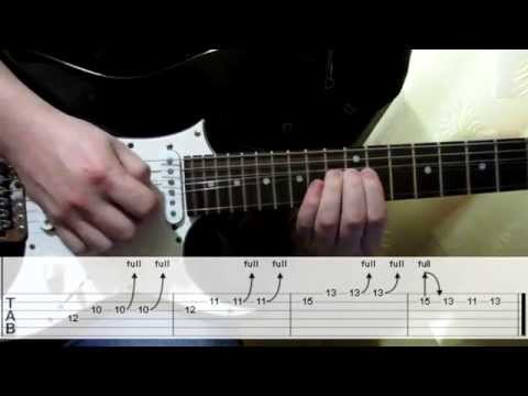 Deep Purple Soldier Of Fortune + solo cover how to play guitar lesson