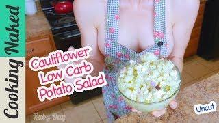 Cauliflower Potato Salad Recipe Preview Low Carb | How To Make