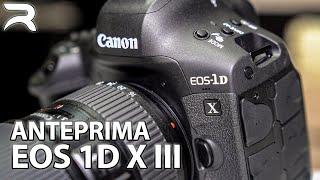 Canon EOS 1D X Mark III ITA Anteprima: la nuova ammiraglia