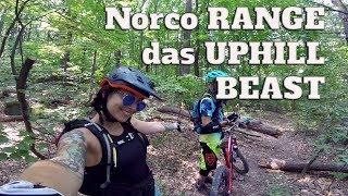 Vater & Tochter gegen die Natur l Norco Range - Uphill + Downhill Beast l Vlog #48 MISS PEACHES