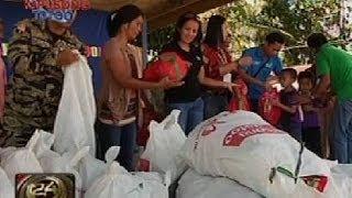 24 Oras: Halos 4,000 bata sa Zamboanga del Norte at Zamboanga Sibugay nahandugan ng pamasko