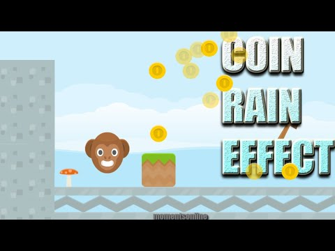 HOW TO CREATE A COIN RAIN EFFECT IN GDEVELOP (no coding)