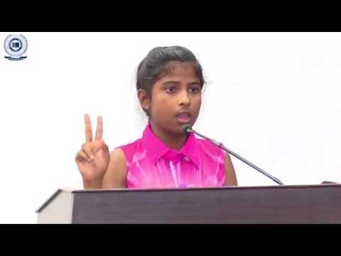 Motivatinal speech By Wonder Girl Janhavi  at SGT University