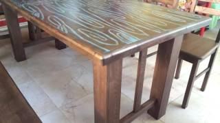 Лофт мебель. Комплект лофт мебели из массива(, 2016-07-03T10:30:38.000Z)