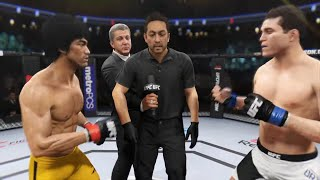 Bruce Lee vs. Brian Ortega (EA Sports UFC 2) - CPU vs. CPU