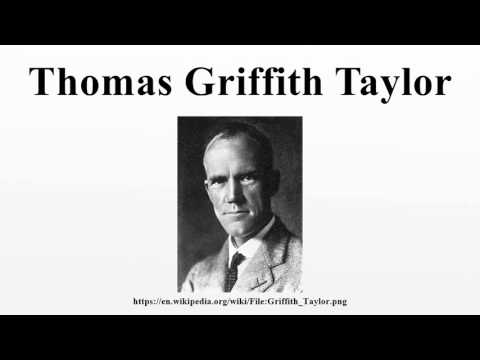 Thomas Griffith Taylor