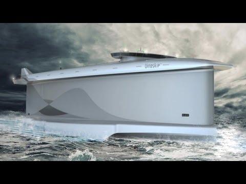 Four4Four SciTech: Futuristic eco ships take shape