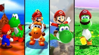 Evolution of Yoshi in 3D Games (1996-2019)