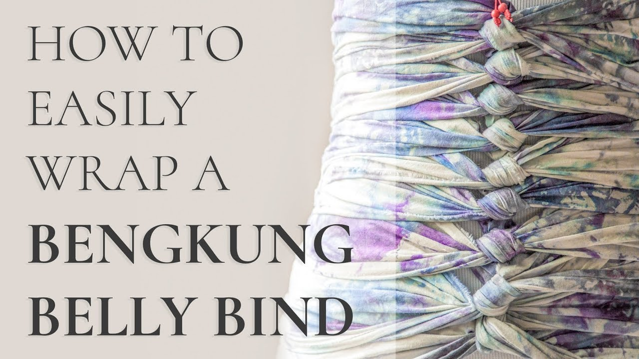 d8557206493de How To Easily Wrap Bengkung Belly Bind Yourself - YouTube