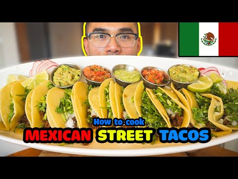 How To Cook MEXICAN STREET TACO