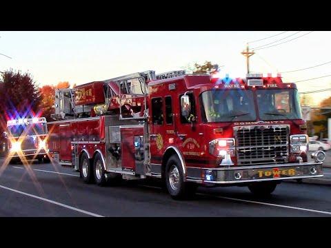 Top 50 Fire Trucks Responding Videos Of 2018