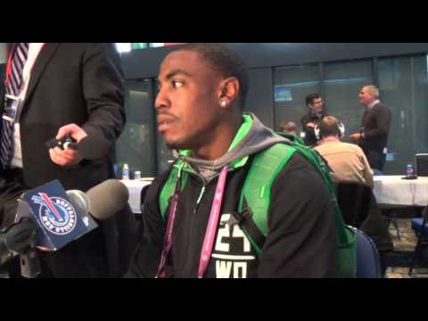 2016 NFL Scouting Combine: Oregon Wide Receiver Byron Marshall