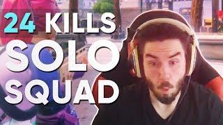 24 Kill Solo Squads!? (72hrs Fortnite Highlights)