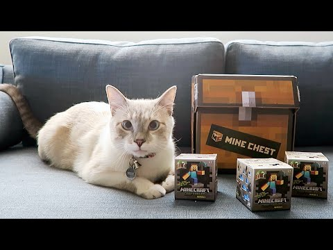 MINECHEST 2 UNBOXING WITH MILQUE - MONDAY VLOG