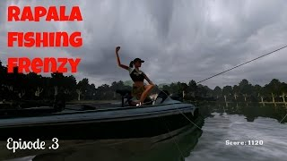 Rapala Fishing Frenzy/ Bass Hunter pt3