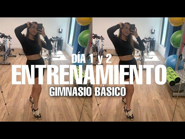 ENTRENAMIENTO DE LUNES A VIERNES EN GIMNASIO BÁSICO!!