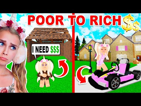 HOMELESS To RICH Building Our DREAM MANSION In BLOXURG (Roblox)