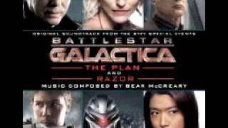 Battlestar Galactica The Plan and Razor Soundtrack- Apocalypse Track 1