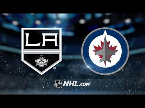 Connor leads Jets past Kings in OT, 2-1