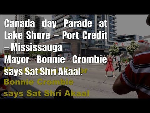 Canada Day Parade - Lakeshore - Port Credit - Mississauga