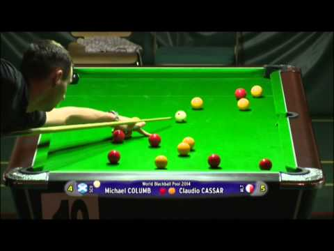 World Blackball Pool Championships - Perth 2014 - Day 2 - Oc